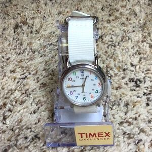 New Timex Weekender Watch Nylon Strap/ Indiglo